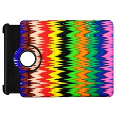 Colorful Liquid Zigzag Stripes Background Wallpaper Kindle Fire HD 7