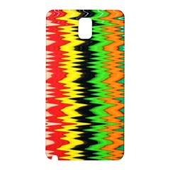 Colorful Liquid Zigzag Stripes Background Wallpaper Samsung Galaxy Note 3 N9005 Hardshell Back Case