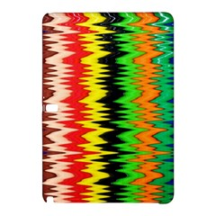 Colorful Liquid Zigzag Stripes Background Wallpaper Samsung Galaxy Tab Pro 10.1 Hardshell Case