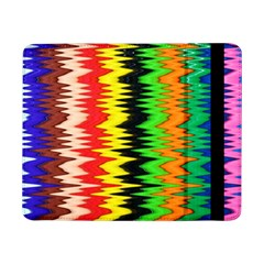 Colorful Liquid Zigzag Stripes Background Wallpaper Samsung Galaxy Tab Pro 8.4  Flip Case