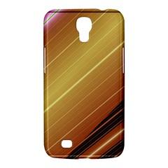 Diagonal Color Fractal Stripes In 3d Glass Frame Samsung Galaxy Mega 6 3  I9200 Hardshell Case