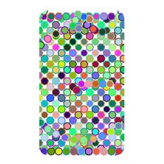 Colorful Dots Balls On White Background Memory Card Reader