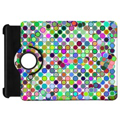Colorful Dots Balls On White Background Kindle Fire HD 7