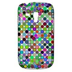 Colorful Dots Balls On White Background Galaxy S3 Mini