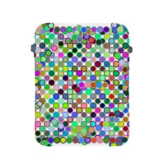 Colorful Dots Balls On White Background Apple iPad 2/3/4 Protective Soft Cases