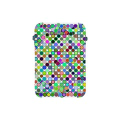Colorful Dots Balls On White Background Apple iPad Mini Protective Soft Cases