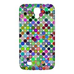 Colorful Dots Balls On White Background Samsung Galaxy Mega 6 3  I9200 Hardshell Case