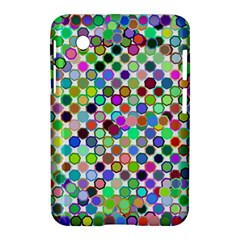 Colorful Dots Balls On White Background Samsung Galaxy Tab 2 (7 ) P3100 Hardshell Case