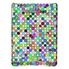 Colorful Dots Balls On White Background Ipad Air Hardshell Cases