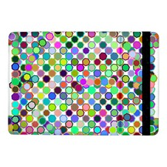 Colorful Dots Balls On White Background Samsung Galaxy Tab Pro 10.1  Flip Case