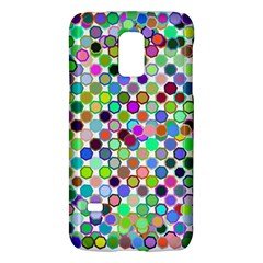 Colorful Dots Balls On White Background Galaxy S5 Mini