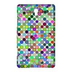 Colorful Dots Balls On White Background Samsung Galaxy Tab S (8 4 ) Hardshell Case