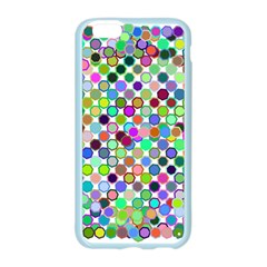 Colorful Dots Balls On White Background Apple Seamless iPhone 6/6S Case (Color)