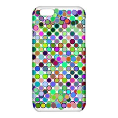 Colorful Dots Balls On White Background iPhone 6/6S TPU Case