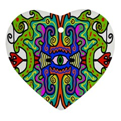 Abstract Shape Doodle Thing Ornament (heart)