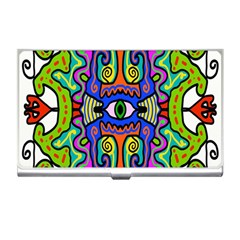Abstract Shape Doodle Thing Business Card Holders
