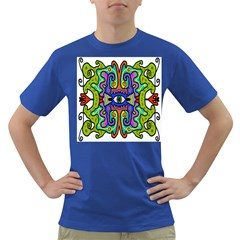 Abstract Shape Doodle Thing Dark T Shirt