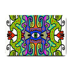 Abstract Shape Doodle Thing Small Doormat
