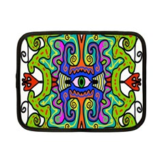 Abstract Shape Doodle Thing Netbook Case (small)