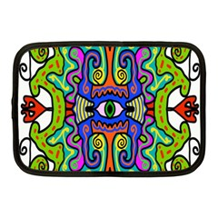 Abstract Shape Doodle Thing Netbook Case (medium)
