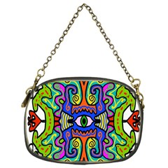 Abstract Shape Doodle Thing Chain Purses (one Side)
