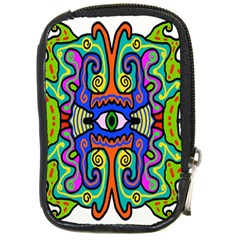 Abstract Shape Doodle Thing Compact Camera Cases