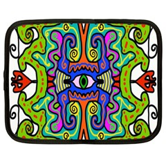 Abstract Shape Doodle Thing Netbook Case (xxl)