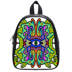 Abstract Shape Doodle Thing School Bags (small)