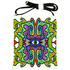 Abstract Shape Doodle Thing Shoulder Sling Bags
