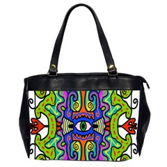 Abstract Shape Doodle Thing Office Handbags (2 Sides)