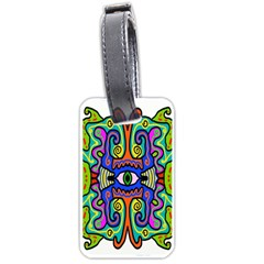 Abstract Shape Doodle Thing Luggage Tags (two Sides)