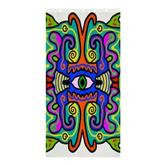 Abstract Shape Doodle Thing Shower Curtain 36  X 72  (stall)