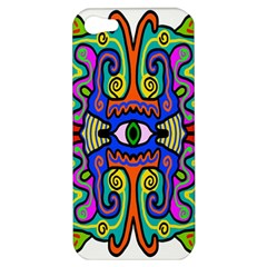 Abstract Shape Doodle Thing Apple Iphone 5 Hardshell Case