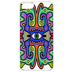 Abstract Shape Doodle Thing Apple iPhone 5 Classic Hardshell Case