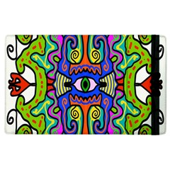 Abstract Shape Doodle Thing Apple Ipad 2 Flip Case