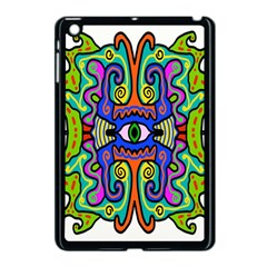 Abstract Shape Doodle Thing Apple iPad Mini Case (Black)