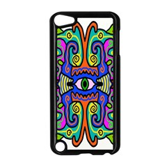 Abstract Shape Doodle Thing Apple Ipod Touch 5 Case (black)
