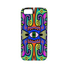 Abstract Shape Doodle Thing Apple iPhone 5 Classic Hardshell Case (PC+Silicone)