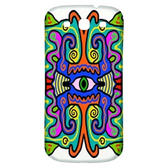 Abstract Shape Doodle Thing Samsung Galaxy S3 S III Classic Hardshell Back Case