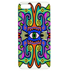 Abstract Shape Doodle Thing Apple Iphone 5 Hardshell Case With Stand
