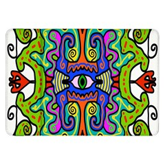 Abstract Shape Doodle Thing Samsung Galaxy Tab 8.9  P7300 Flip Case
