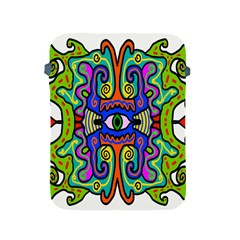 Abstract Shape Doodle Thing Apple Ipad 2/3/4 Protective Soft Cases