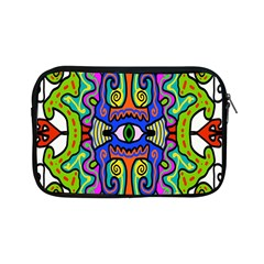 Abstract Shape Doodle Thing Apple Ipad Mini Zipper Cases