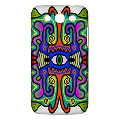 Abstract Shape Doodle Thing Samsung Galaxy Mega 5.8 I9152 Hardshell Case