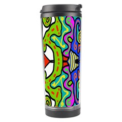 Abstract Shape Doodle Thing Travel Tumbler