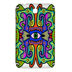 Abstract Shape Doodle Thing Samsung Galaxy Tab 3 (7 ) P3200 Hardshell Case