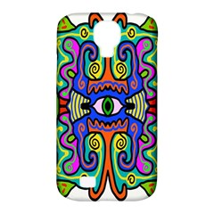 Abstract Shape Doodle Thing Samsung Galaxy S4 Classic Hardshell Case (PC+Silicone)