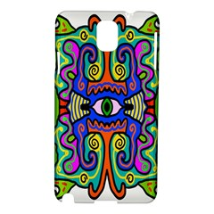 Abstract Shape Doodle Thing Samsung Galaxy Note 3 N9005 Hardshell Case