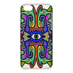 Abstract Shape Doodle Thing Apple Iphone 5c Hardshell Case