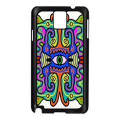 Abstract Shape Doodle Thing Samsung Galaxy Note 3 N9005 Case (Black)